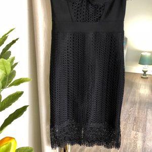 Dolce vita black lace dress